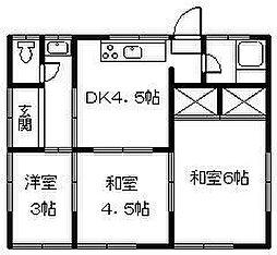 [一戸建] 愛媛県松山市衣山3丁目 の賃貸【/】の間取り