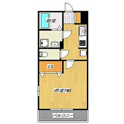 Maison de Bonheur I[207号室]の間取り