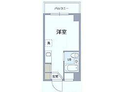 エトワール立川錦町[2階]の間取り