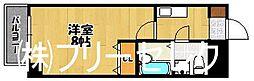 福岡県福岡市中央区高砂2の賃貸マンションの間取り