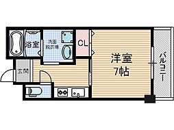 セラフィックIWT[5階]の間取り