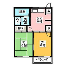 Sweet Home[1階]の間取り