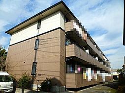 埼玉県上尾市浅間台3の賃貸アパートの外観