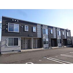北海道苫小牧市拓勇西町7丁目の賃貸アパートの外観
