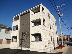 愛媛県松山市保免西2丁目の賃貸アパートの外観