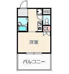 エルアイレ21[5階]の間取り