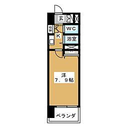 S‐FORT山王[7階]の間取り