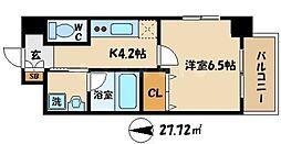 IKカーサ[3階]の間取り