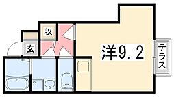 ダリア B棟[102号室]の間取り