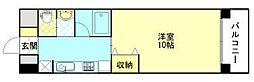 e−環境秋田ビル[403号室]の間取り