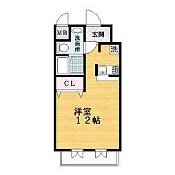 メゾンパティオ2[7階]の間取り