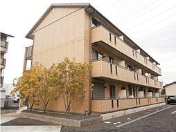 滋賀県野洲市栄の賃貸アパートの外観