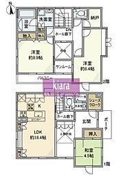 [一戸建] 神奈川県横浜市保土ケ谷区西谷町 の賃貸【/】の間取り
