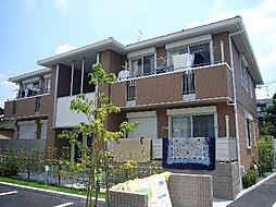 大阪府茨木市中河原町の賃貸アパートの外観
