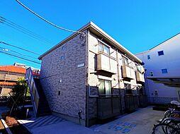 埼玉県新座市東北2丁目の賃貸アパートの外観