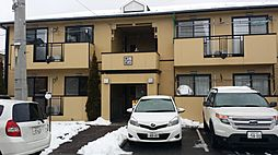 長野県松本市石芝4丁目の賃貸アパートの外観
