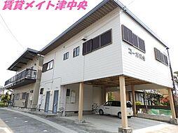 三重県津市久居持川町の賃貸アパートの外観