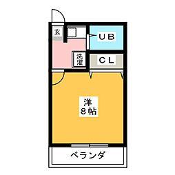アビリティハウス田中[2階]の間取り