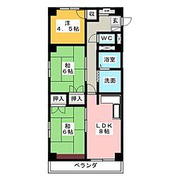 レジデンス新居[3階]の間取り