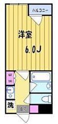 COM.Y.S(コム)[103号室号室]の間取り