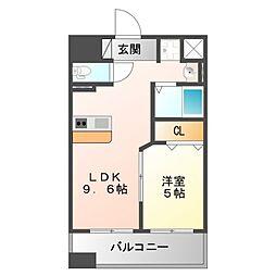 第1関根マンション[7階]の間取り