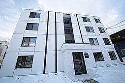 北海道恵庭市黄金中央3丁目の賃貸マンションの外観