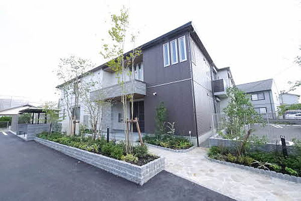 熊本県熊本市中央区国府4丁目の賃貸アパート