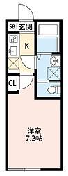 Lien[305号室]の間取り