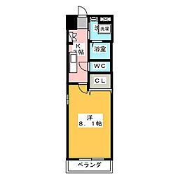 シダー・フィールド浄心[5階]の間取り