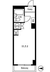 グランドメゾン鶴見ノースウイング[5階]の間取り