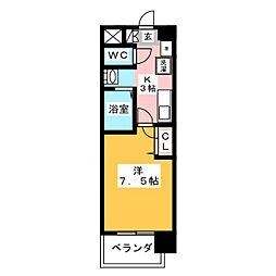 ASレジデンス千代田[10階]の間取り