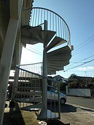 鹿児島県鹿児島市桜ケ丘6丁目の賃貸アパートの外観
