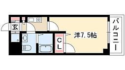 現代ハウス金山[5階]の間取り