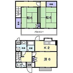 ロマニー高柳 3[1階]の間取り