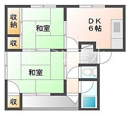 大塚マンション[4階]の間取り