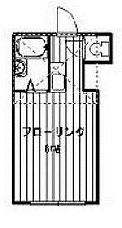 カーメルヴィラ2[2階]の間取り