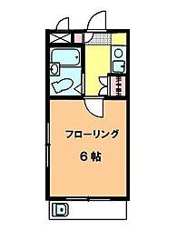 サンコーパレス調布[2階]の間取り