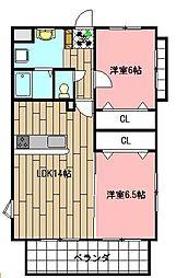 Fleur de Ishida[101号室]の間取り