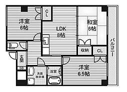 美サイレントマンションII[3階]の間取り