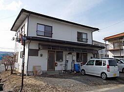 長野県諏訪郡下諏訪町西赤砂の賃貸アパートの外観