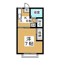 南光台ハイツ[1階]の間取り