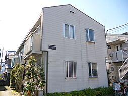 千葉県松戸市西馬橋広手町の賃貸アパートの外観