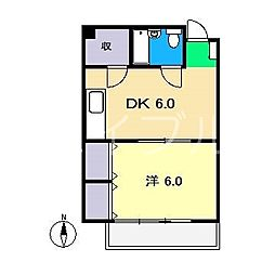 レジデンス・リオ[3階]の間取り