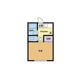 レジデンス伊藤[1階]の間取り