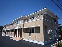 栃木県栃木市薗部町4丁目の賃貸アパートの外観