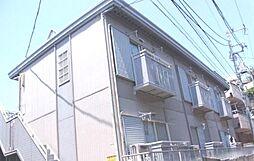 東京都文京区白山2丁目の賃貸アパートの外観