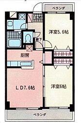 セラ・ステージ新横浜[305号室号室]の間取り