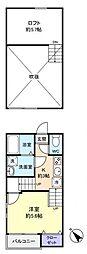 クレオ八千代台[2階]の間取り