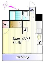 蓮根台ダイヤモンドマンション[2階]の間取り
