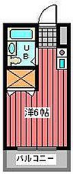 コーポ鳩ヶ谷[2階]の間取り